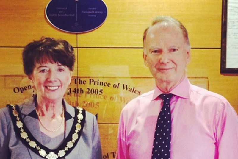 Deputy Lord Mayor visits the hospice