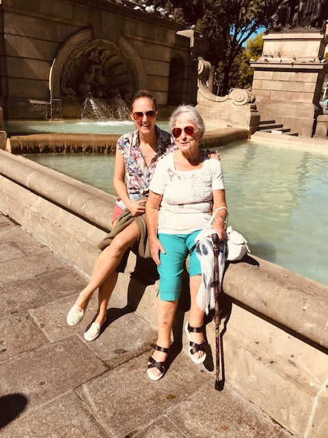 City Hospice Fundraiser and her Nan