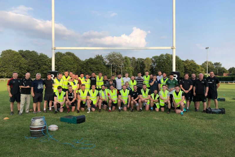 Rhiwbina RFC helping City Hospice, local Cardiff hospice