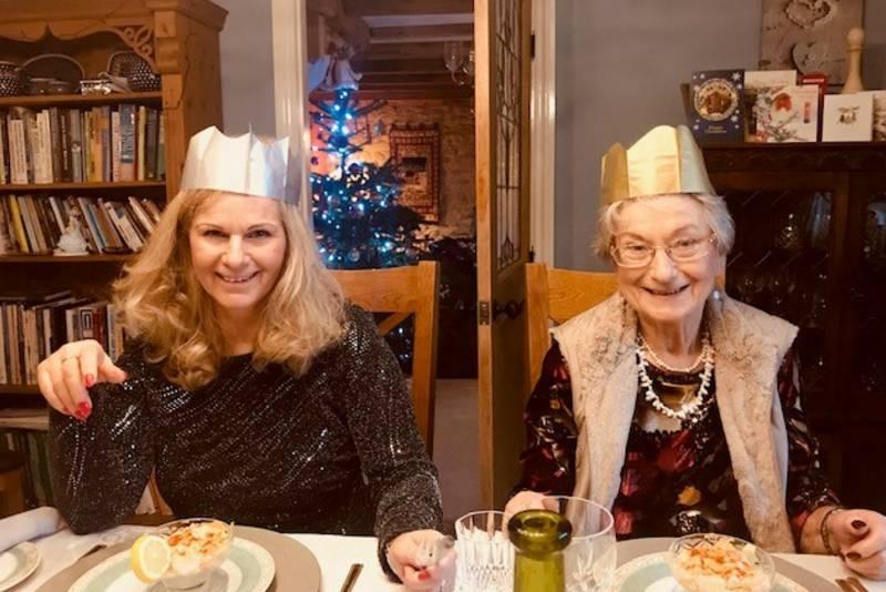 Gemma and Nan Donate A Day web