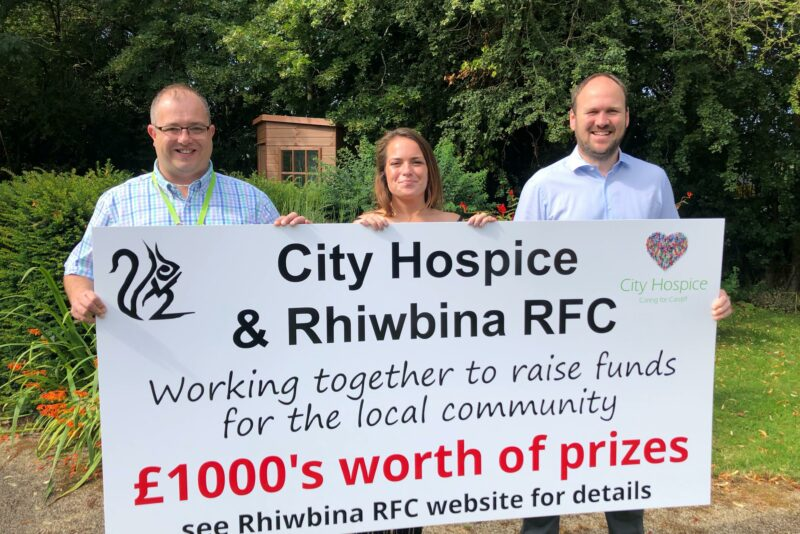 Rhiwbina RFC support Cardiff local hospice