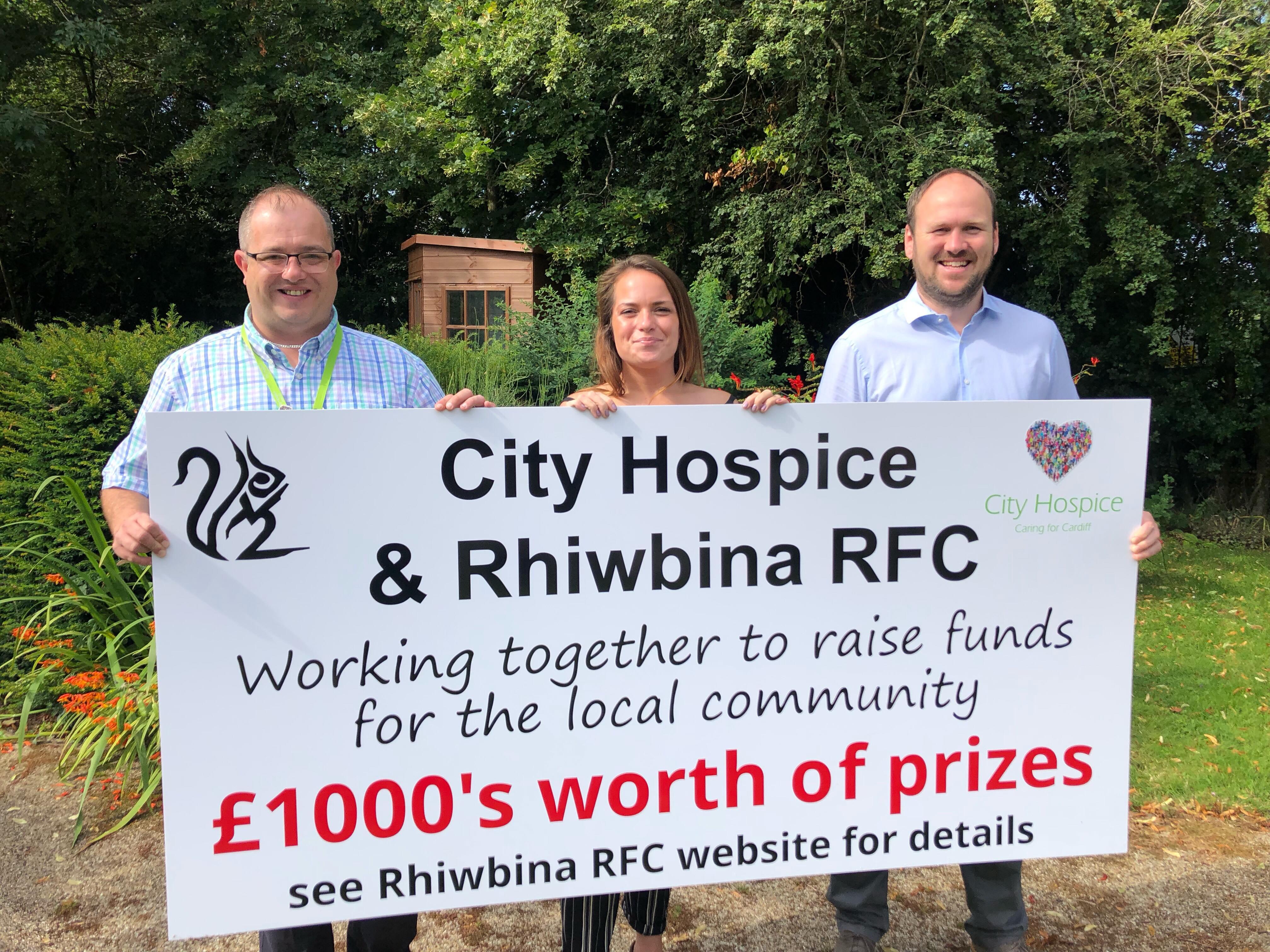 Rhiwbina RFC support Cardiff local hospice