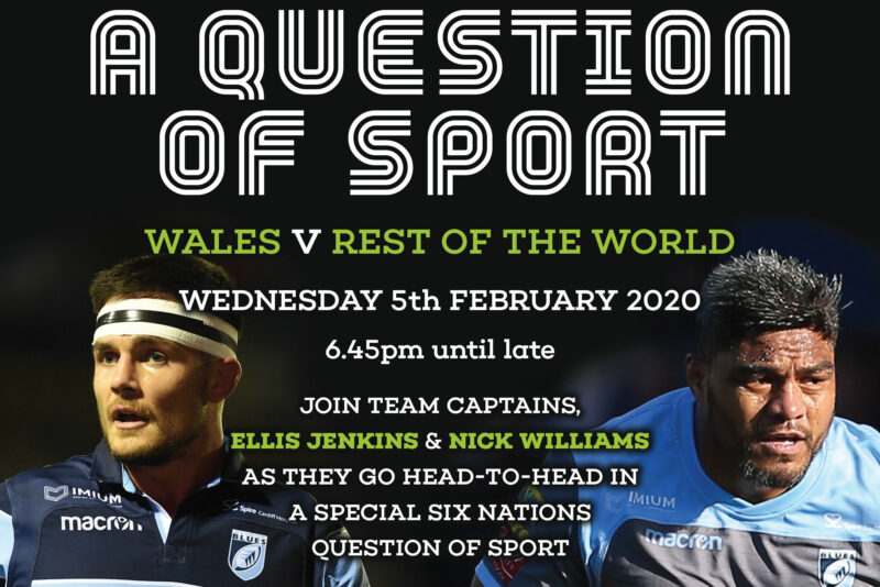 Question of Sport - 5th Feb 2020 - Flyer