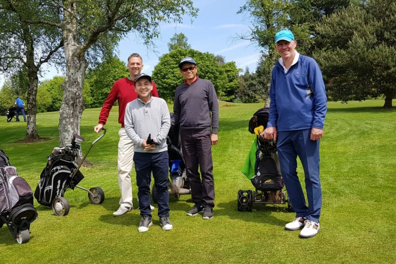 Cardiff Charity Golf Day Team