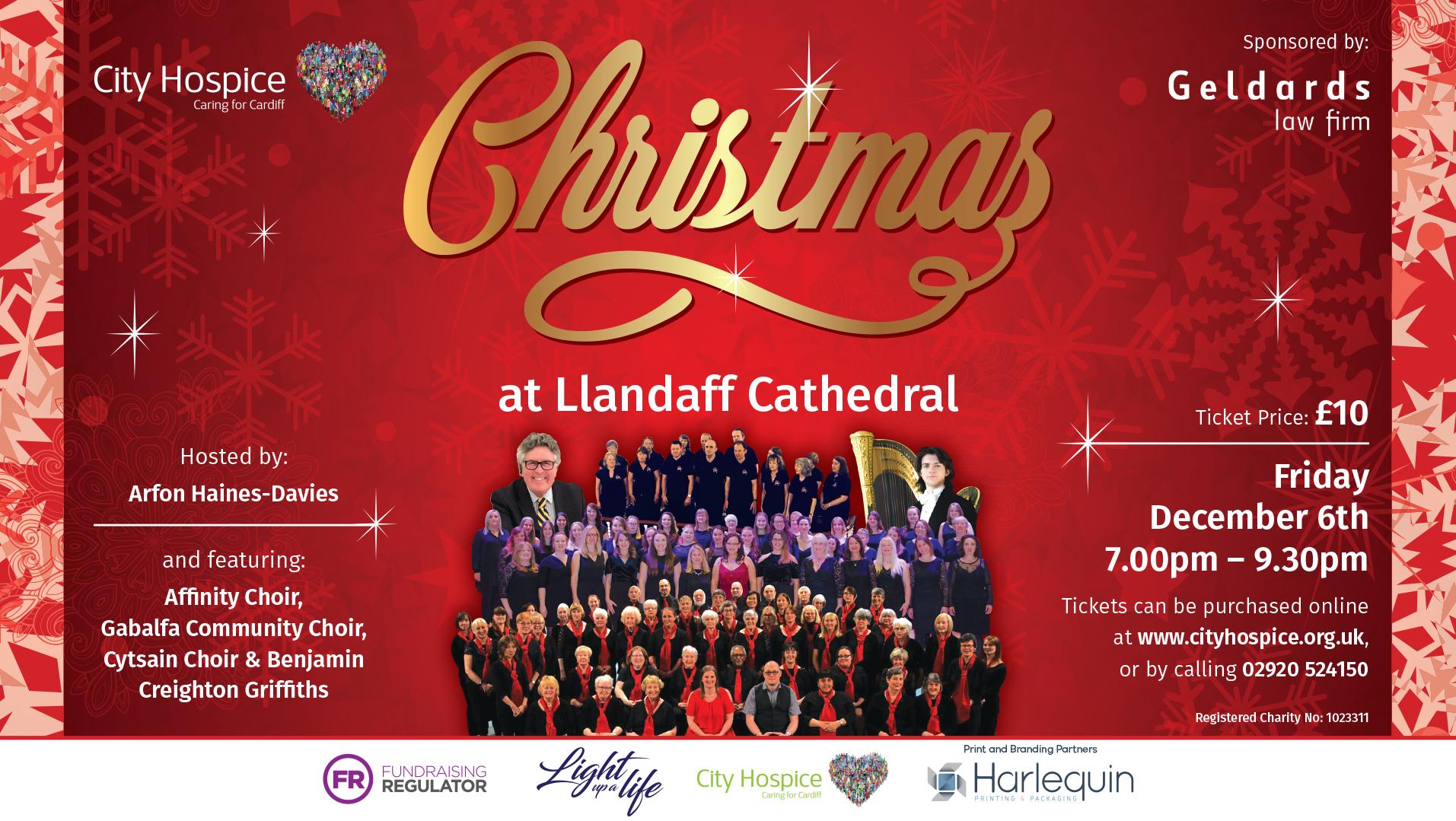 Christmas at Llandaff Cathedal