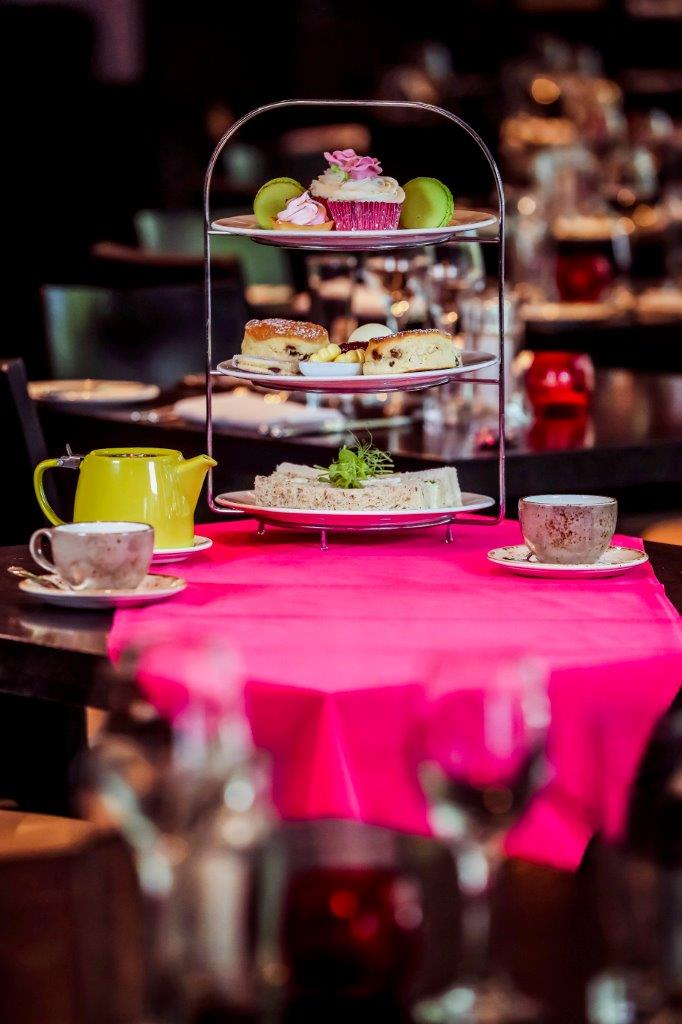 Park Plaza Cardiff support City Hospice with their Pink Afternoon Teas during October's Breast Cancer Awareness Month