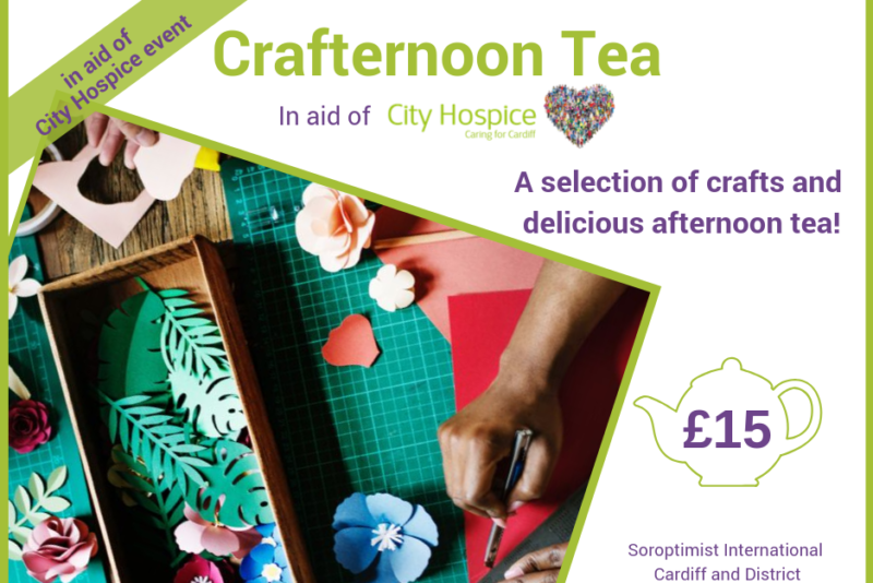 Crafternoon Tea in aid of City Hospice