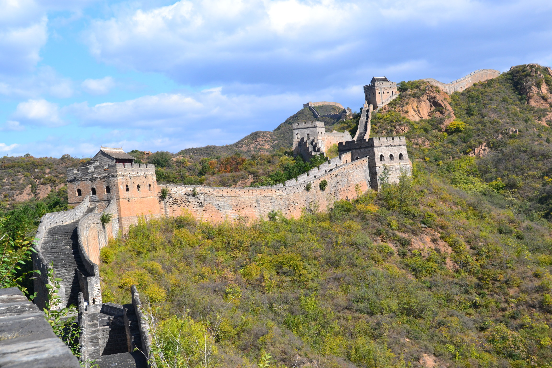 Great Wall of China Trek takes place 16 Oct - 24 Oct 2020