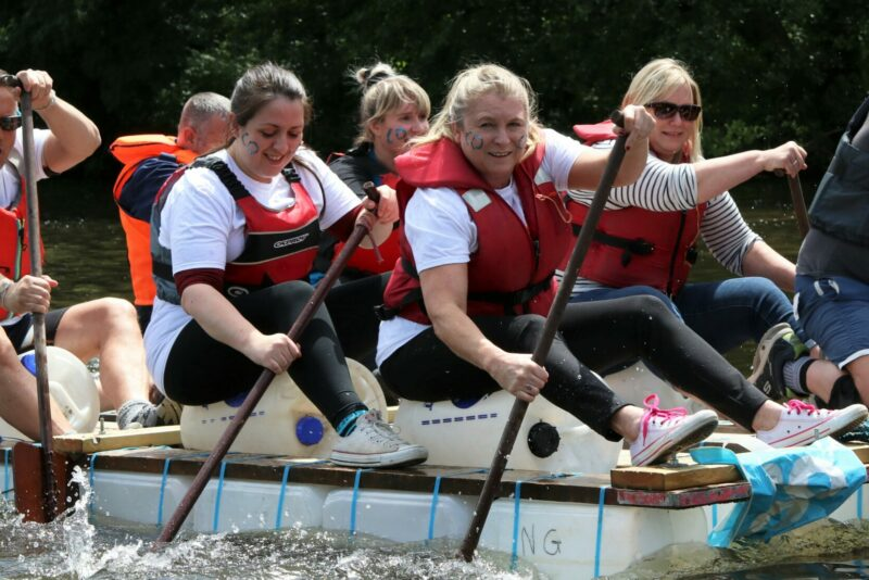 City Hospice Charity Raft Race