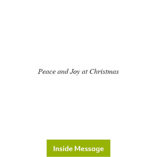 Choir Boys Christmas Card 2020 - Inside Message