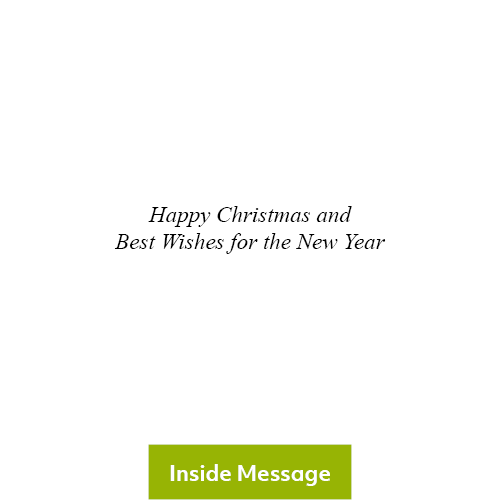 Ready for Christmas, Christmas Card 2020 - Inside Message