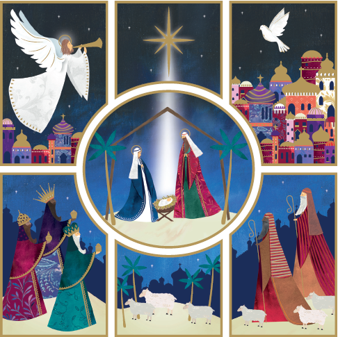 The Nativity Story Christmas Cards