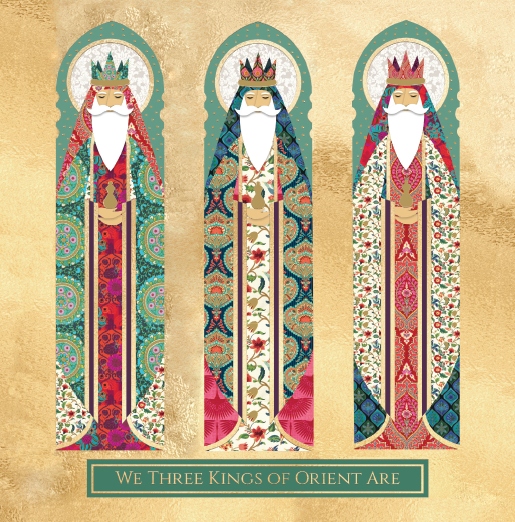 We Three Kings of Orient Christmas Cards